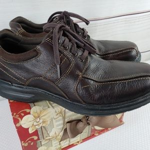 Mens Clarks Ramble Lace up Brown size 9W